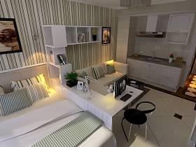 现代单身公寓设计案例