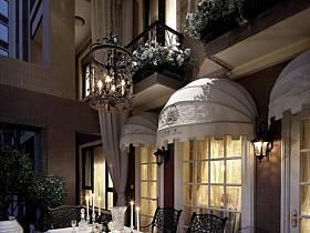 法式法式风格餐厅吊顶案例展示