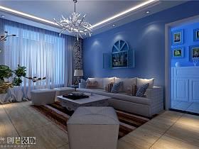 地中海客厅设计方案