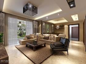 現代簡約客廳設計案例展示