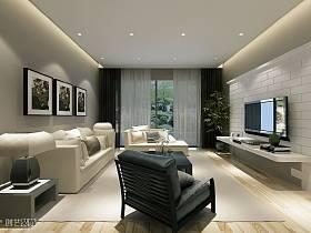 客廳電視背景墻設計方案