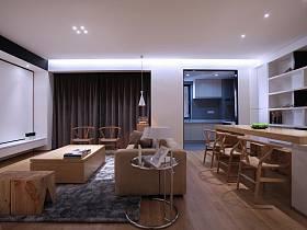 現代簡約客廳電視背景墻圖片