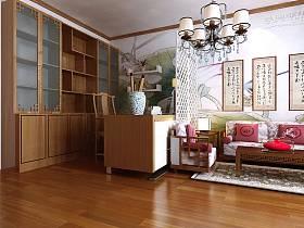 中式书房装修效果展示