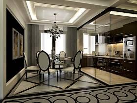 新古典餐廳吊頂設計案例展示
