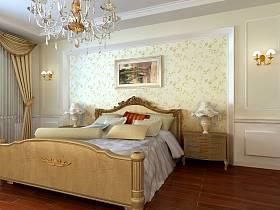 欧式卧室吊顶设计案例