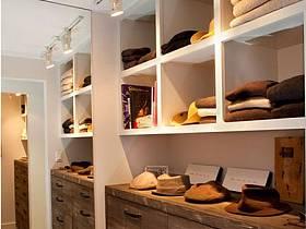 現代簡約美式復古衣帽間衣柜裝修效果展示