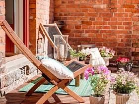 自然阳台花园设计案例