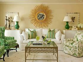 中式混搭现代简约中式风格混搭风格客厅画框装修案例