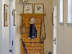 美式玄关玄关柜图片