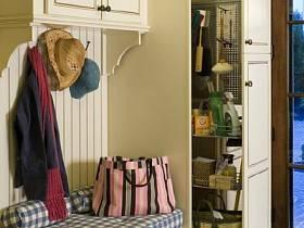 美式玄關玄關柜柜子裝修圖