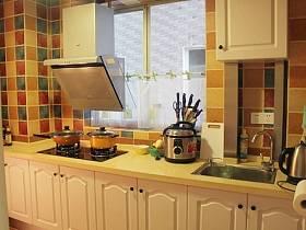 廚房儲物柜馬賽克裝修案例