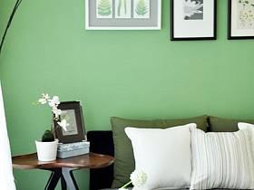 清新簡約客廳背景墻沙發客廳沙發設計案例展示