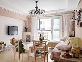 温馨浪漫客厅设计图