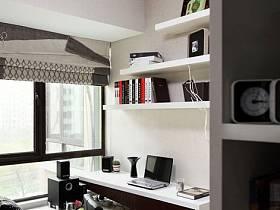 書房窗簾桌子設計圖
