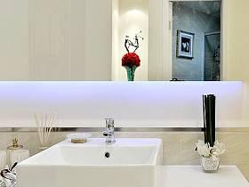 衛浴臺盆裝修圖