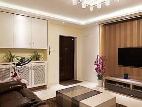 客廳沙發水晶吊燈設計方案