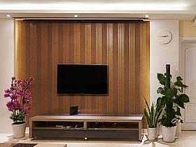 客廳背景墻電視背景墻壁紙圖片