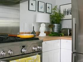 清新自然廚房植物設計案例