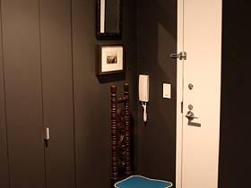 清新鞋柜椅藤椅设计方案