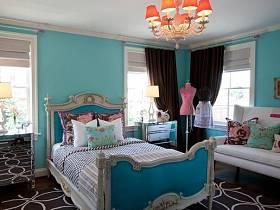 歐式地中海混搭其他風格地中海風格臥室設計案例展示