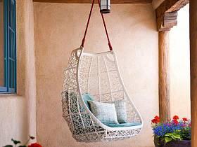 自然复古时尚阳台椅装修效果展示