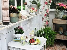 自然花园实木地板木地板设计案例展示