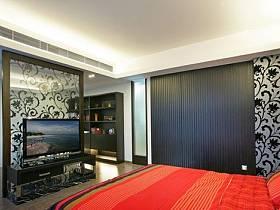 歐式典雅臥室背景墻壁紙設計方案