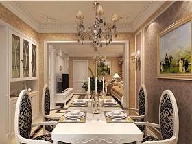 歐式自然餐桌歐式餐桌椅裝修案例