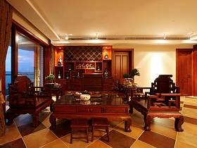 中式明清客廳設計案例展示