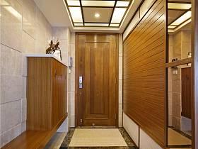 中式玄關吊頂設計圖