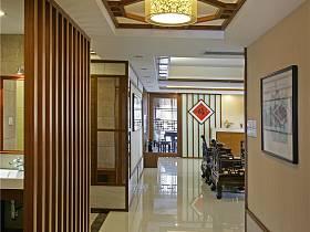 現代簡約走廊吊頂設計方案