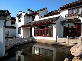 中式外景装修图