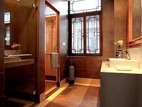 中式卫生间图片