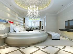 簡歐臥室裝修案例