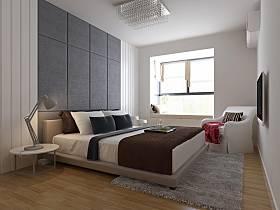 现代简约卧室设计图