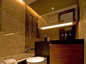 現代簡約衛生間浴室淋浴房設計圖