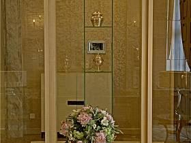 歐式新古典玄關玄關柜裝修圖
