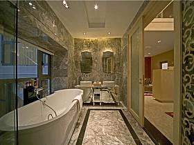 欧式简欧浴室淋浴房设计案例展示