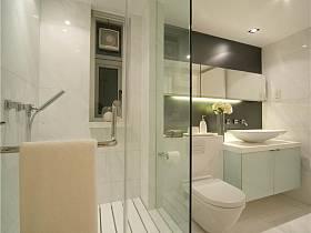 现代简约卫生间浴室淋浴房设计案例展示