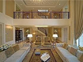 欧式客厅楼梯装修图