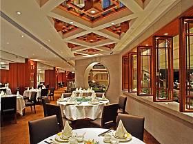新中式创意餐厅酒店设计图