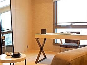 現代簡約書房多功能室裝修圖