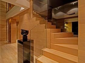 现代简约客厅楼梯设计案例