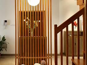 中式隔斷樓梯設計案例