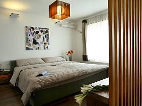 现代简约新中式卧室老人房装修图