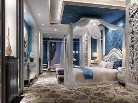 歐式地中海新古典臥室設計方案