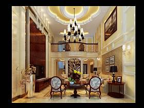 欧式客厅案例展示