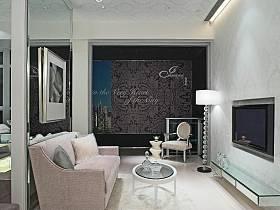 現代簡約客廳多功能室案例展示