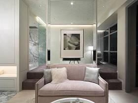 现代简约卧室多功能室沙发案例展示