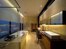 现代简约卫生间浴室效果图